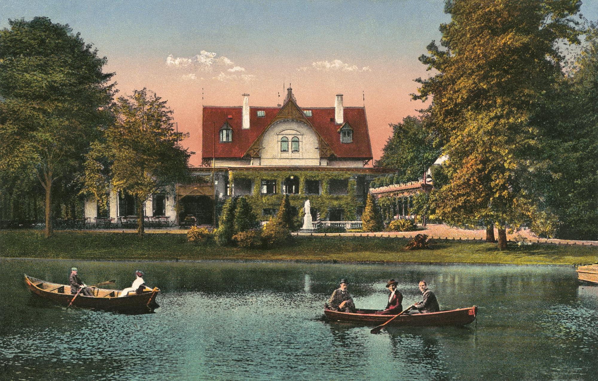 Nr.31 - Meierei, See, zwei Ruderboote