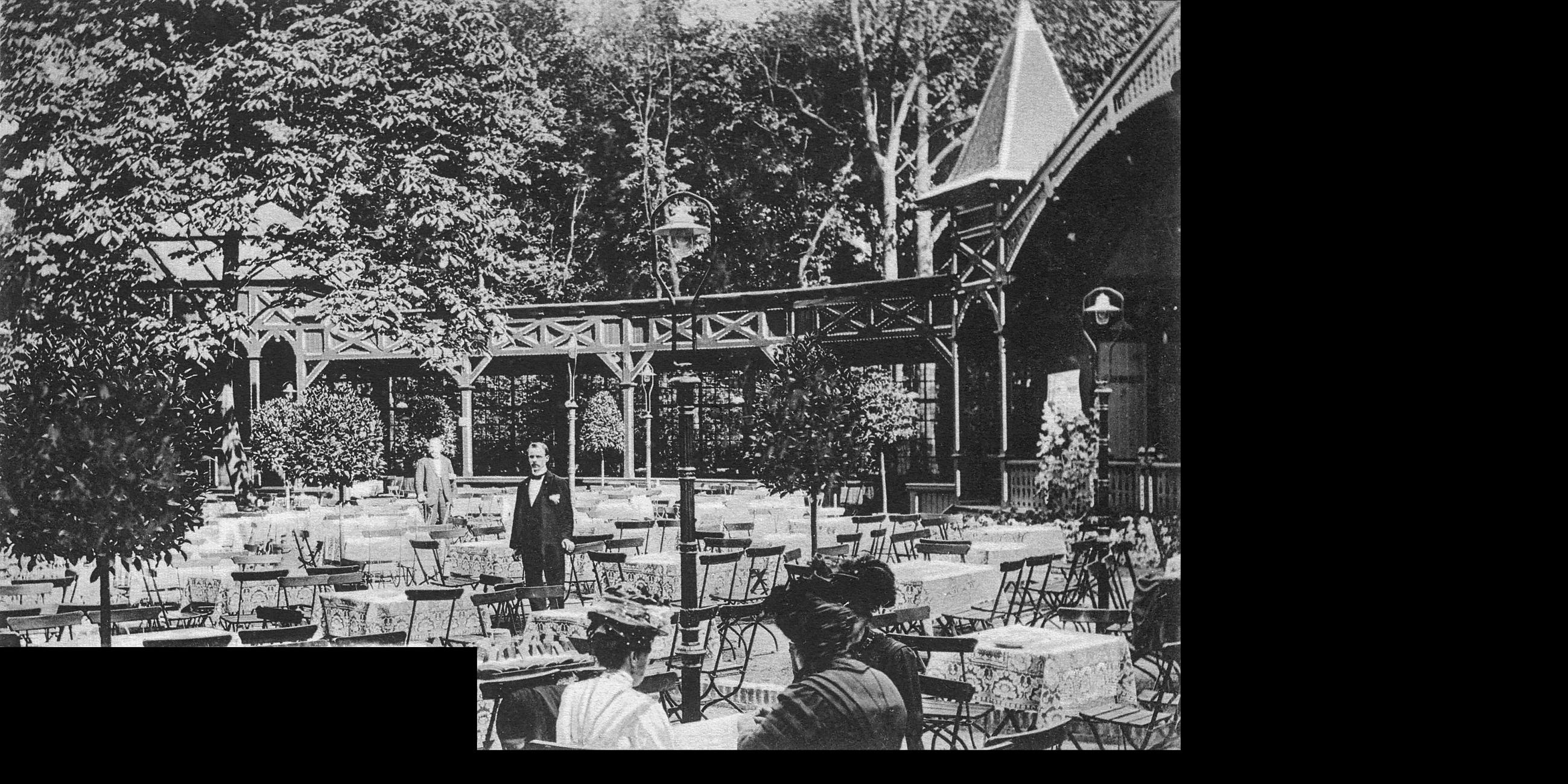 Cafehausgarten, Pagode