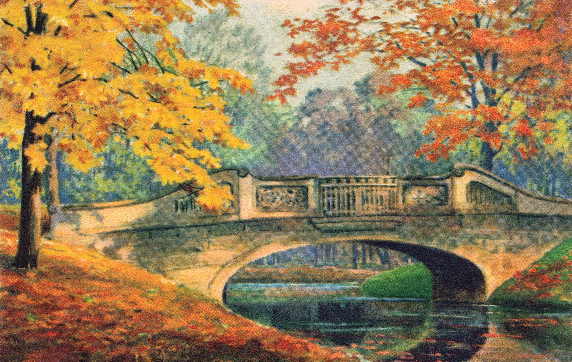 Nr.627 - Wiegandbruecke im Herbst