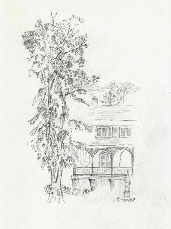 Zeichnung, Meierei