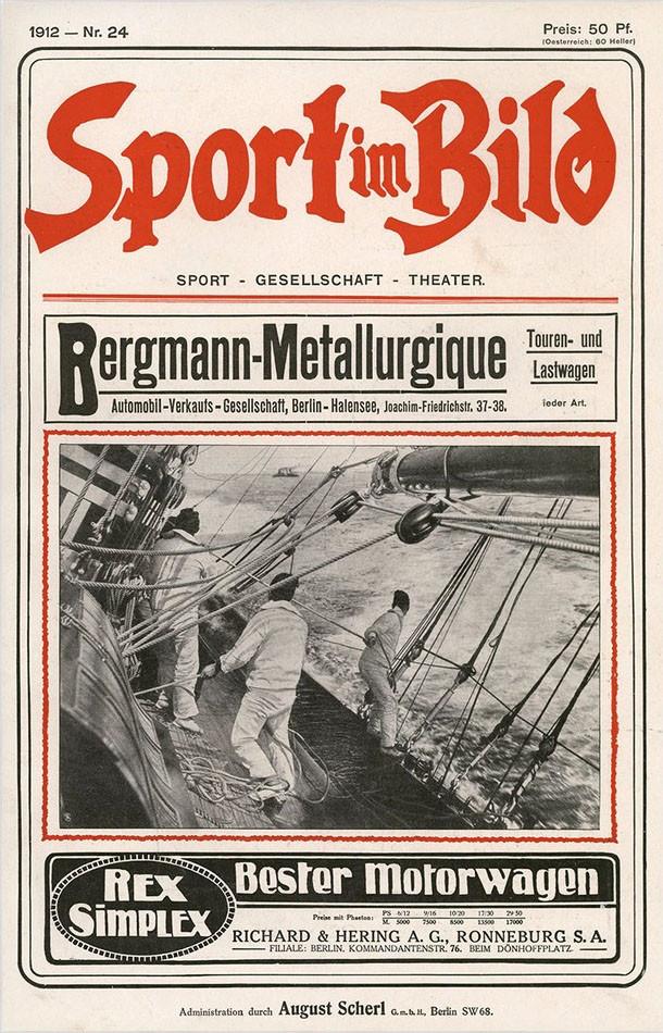 Titelblatt - Sport im Bild - 1912