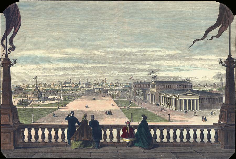 Stich 03, Schiessplatz, Bundesschiessen 1865